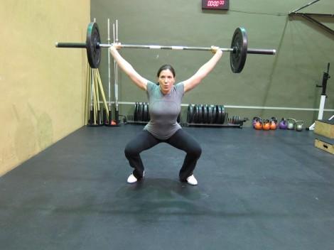 Still lifting heavy stuff at nearly 16 weeks