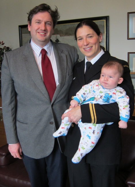 Oliver's first Remembrance Day.