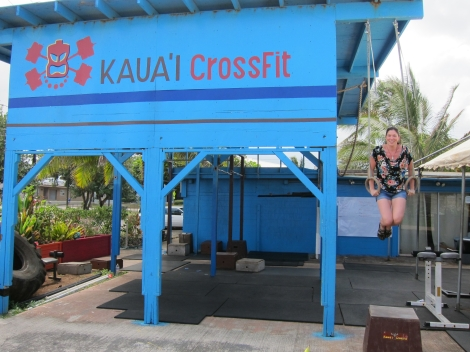 I didn't even know there was a CrossFit box on Kaua'i.