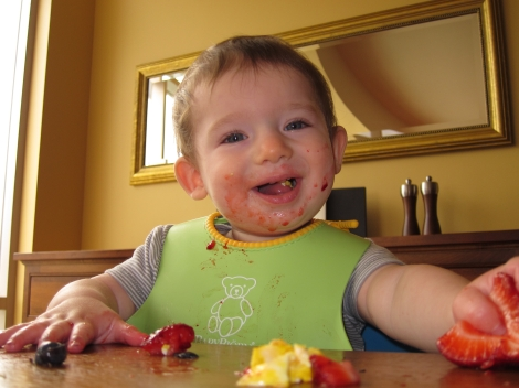 Building a healthy feeding relationship.