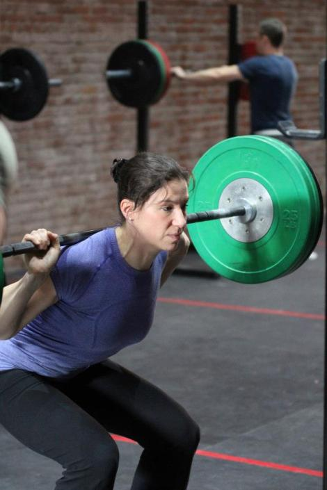 Getting back into the game... but not the Games. Photo by Riley Karroll, CrossFit 604.