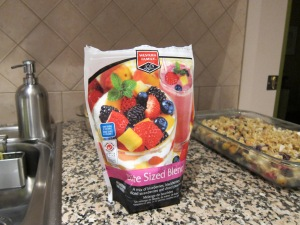 """Western Family brand """"Bite Sized Blend"""" works perfectly for this recipe."""
