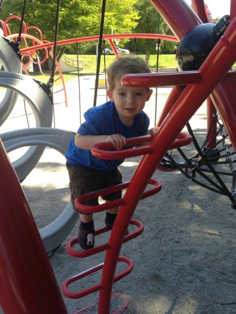...and the big kids' playground.