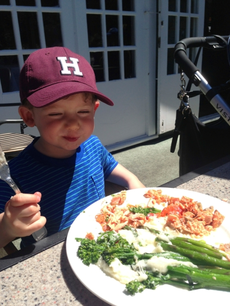 ...then finished up our perfect Vancouver morning with salmon lunch at The Fish House.