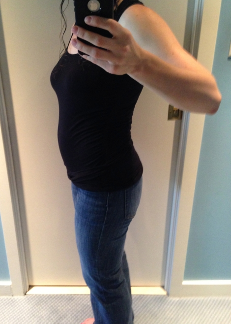 The 15 week belly, today.