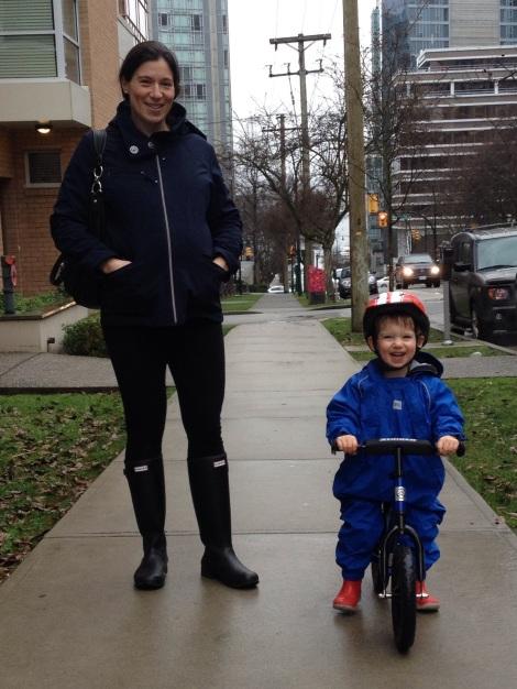 Rainy day bike ride last weekend. Gotta love those West Coast winters!