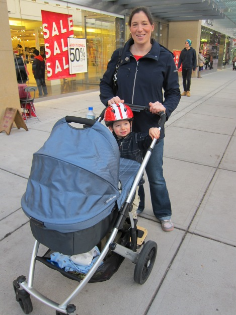 First family outing, the next day. Feeling great! :)