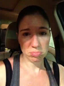 I am not a happy camper at 6:30 AM.